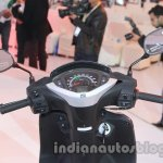 Honda Activa 125 instrument cluster at Auto Expo 2014