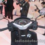 Honda Activa 125 instrument cluster at Auto Expo 2014