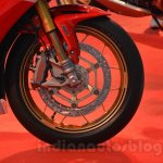 Honda CBR 1000RR SP front disc brake detail live