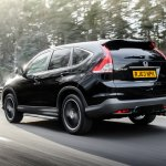 Honda CRV Black and White edition UK rear black