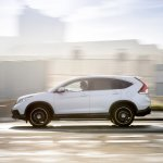 Honda CRV Black and White edition UK white side