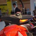 Honda CX-01 Concept Auto Expo 2014 handle