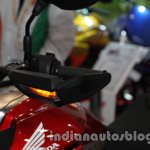 Honda CX01 Concept indicator on the handlebar