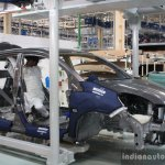 Honda Cars India Tapukara Plant roof panel bolting live