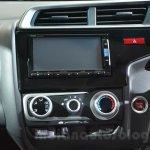 Honda Jazz dashboard at 2014 Auto Expo