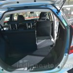 Honda Jazz flexible seat at 2014 Auto Expo