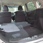 Honda Jazz rear seat flat folding at 2014 Auto Expo