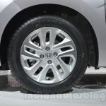 Honda Jazz wheel at 2014 Auto Expo