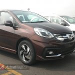 Honda Mobilio RS Indonesia spied front