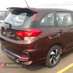 Honda Mobilio RS Indonesia spied taillights