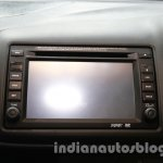 Honda Mobilio dashboard integrated touch screen at Auto Expo 2014