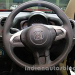 Honda Mobilio steering wheel at Auto Expo 2014