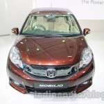 Honda Mobilio front view at Auto Expo 2014