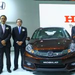Honda Mobilio at Auto Expo 2014 live shot