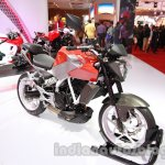 Hyosung GD 250N front three quarter view at Auto Expo 2014