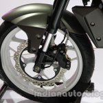 Hyosung GD 250N front wheel disc brake at Auto Expo 2014