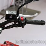 Hyosung GD 250N handlebar right at Auto Expo 2014