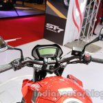 Hyosung GD 250N instrument cluster at Auto Expo 2014