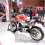 Hyosung GD 250N rear three quarters right at Auto Expo 2014