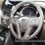 Hyundai Santa Fe at Auto Expo 2014 dashboard