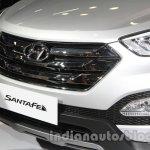 Hyundai Santa Fe at Auto Expo 2014 grille