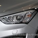 Hyundai Santa Fe at Auto Expo 2014 headlamp