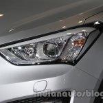Hyundai Santa Fe at Auto Expo 2014 headlamp