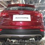 Hyundai Santa Fe at Auto Expo 2014 rear fascia