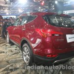 Hyundai Santa Fe at Auto Expo 2014 rear three quarter view