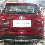 Hyundai Santa Fe at Auto Expo 2014 rear