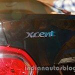 Hyundai Xcent badge live image