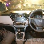 Hyundai Xcent dashboard live image