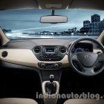 Hyundai Xcent dashboard