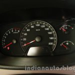 Hyundai Xcent instrument cluster live image