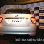 Hyundai Xcent rear exterior