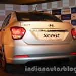 Hyundai Xcent rear fascia exterior