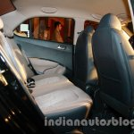 Hyundai Xcent rear seat legroom live image