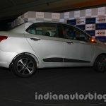 Hyundai Xcent side profile exterior