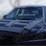 Hyundai ix25 bonnet spy shot
