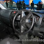 Isuzu D-MAX Space Cab dashboard at Auto Expo 2014