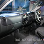 Isuzu D-MAX Space Cab dashboard co-driver side at Auto Expo 2014