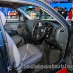 Isuzu D-MAX Space Cab dashboard driver side at Auto Expo 2014