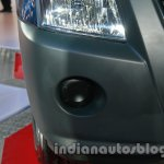 Isuzu D-MAX Space Cab foglamp enclosure at Auto Expo 2014