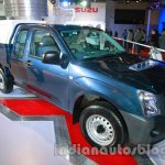 Isuzu D-MAX Space Cab front three quarters at Auto Expo 2014