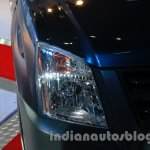 Isuzu D-MAX Space Cab headlamp at Auto Expo 2014