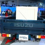 Isuzu D-MAX Space Cab rear at Auto Expo 2014