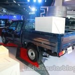 Isuzu D-MAX Space Cab rear three quarters at Auto Expo 2014