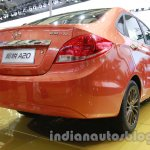 JAC A20 rear three quarters