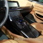 Jaguar C-X17 at 2014 Auto Expo center console