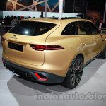 Jaguar C-X17 at 2014 Auto Expo rear quarter